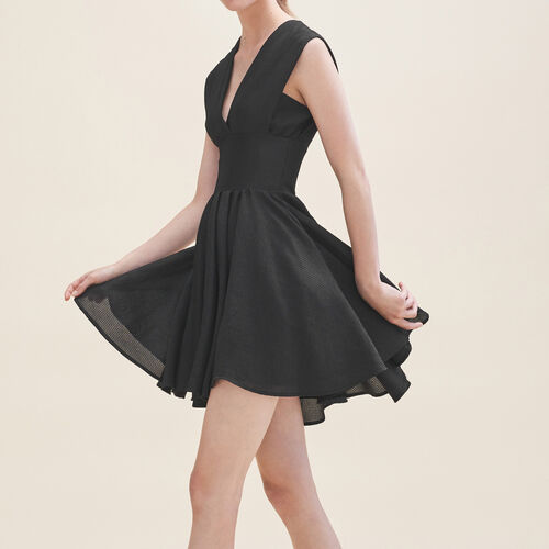 Sleeveless skater dress - Dresses - MAJE