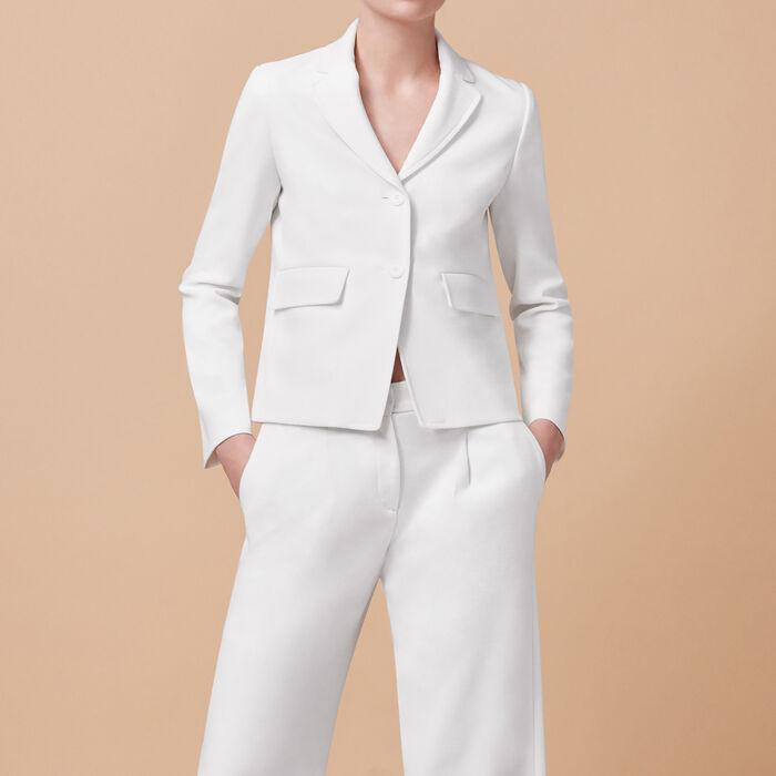 Tailored jacket -  - MAJE