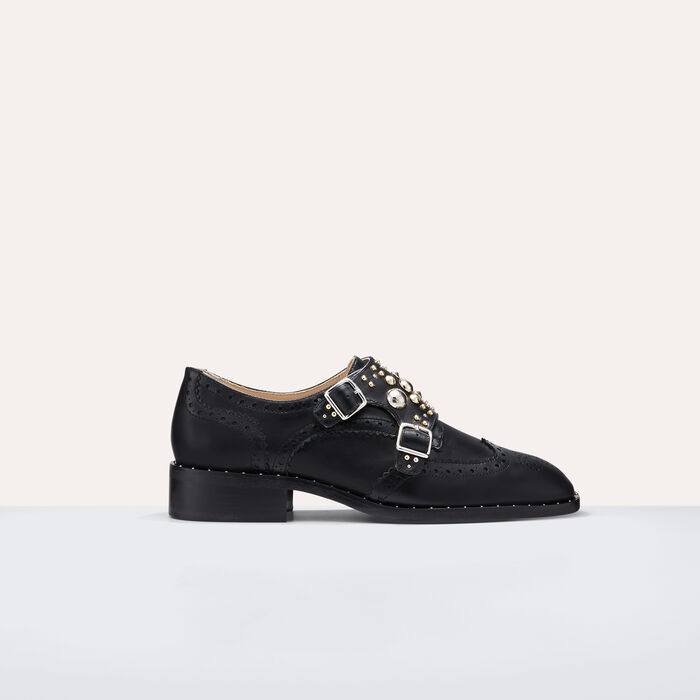 Derbies with studs -  - MAJE