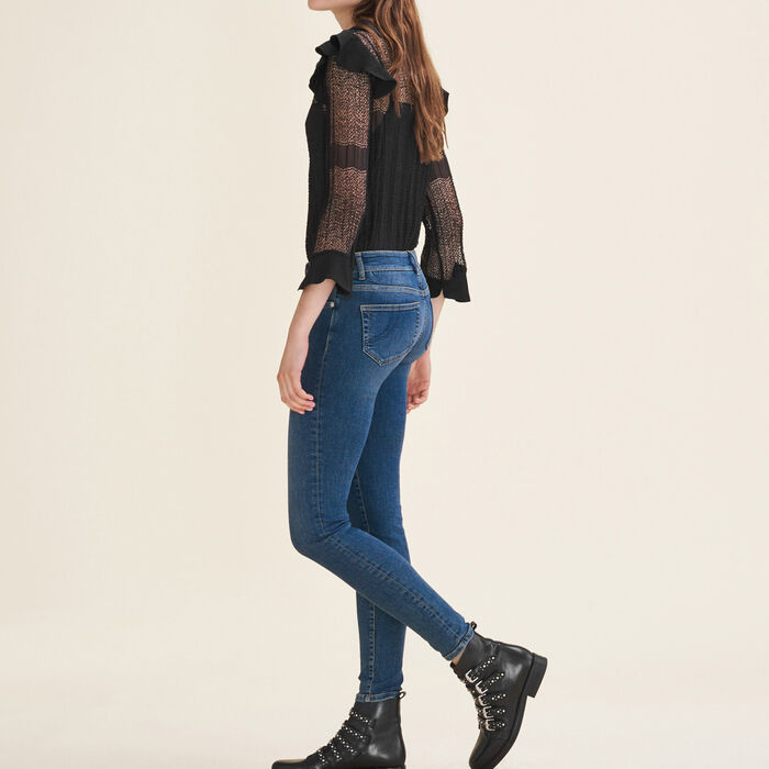 Faded slim jeans -  - MAJE