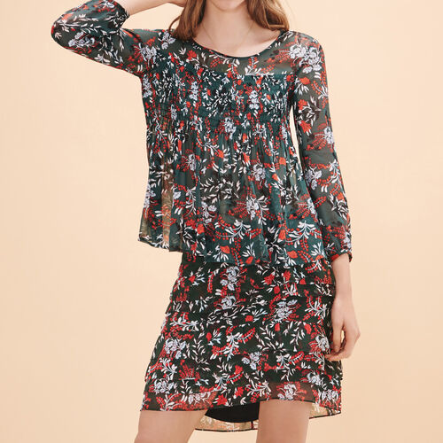 Floral-print top - Tops - MAJE