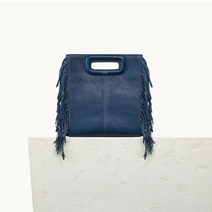 Lambskin M bag - Bags - MAJE
