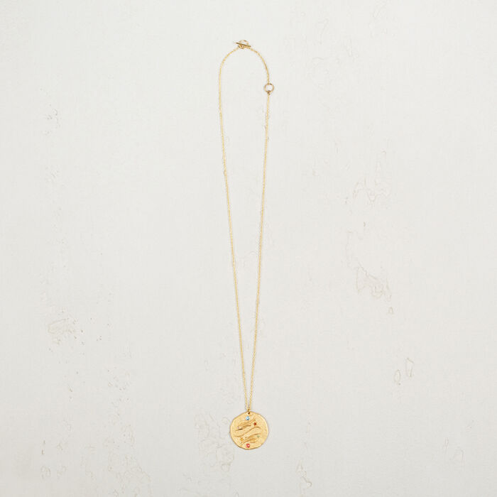 Pisces zodiac sign necklace -  - MAJE