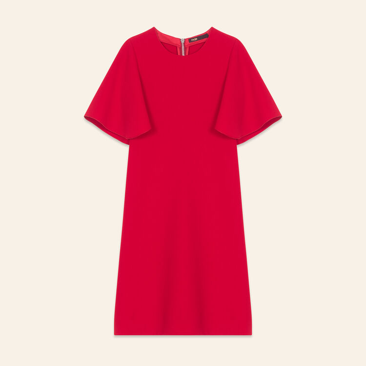 Butterfly sleeve dress - Dresses - MAJE