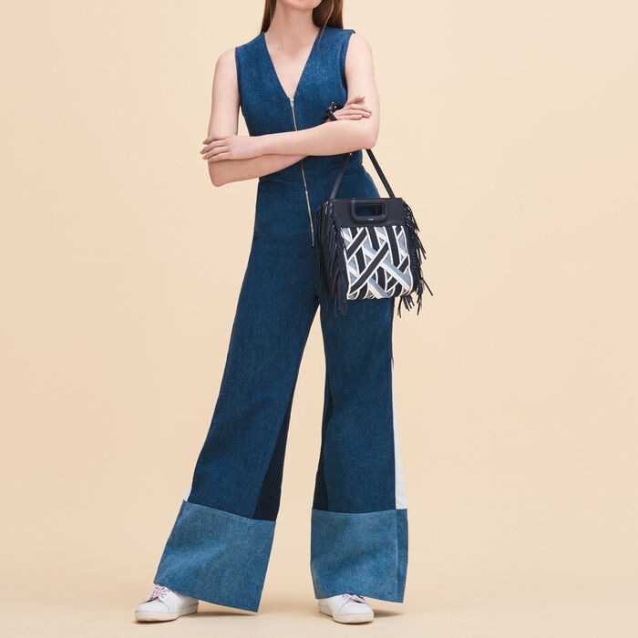 Sleeveless jumpsuit -  - MAJE