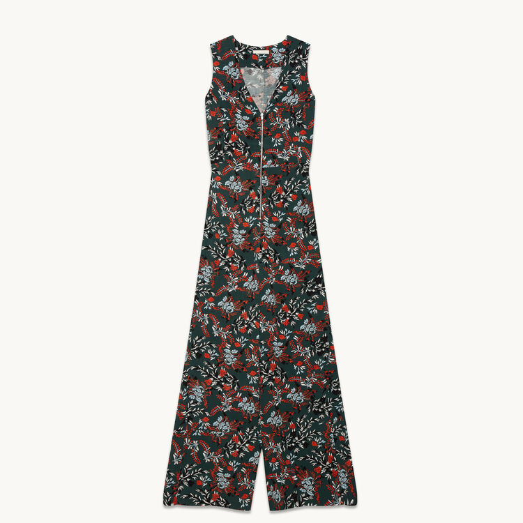 Printed jumpsuit - Trousers - MAJE