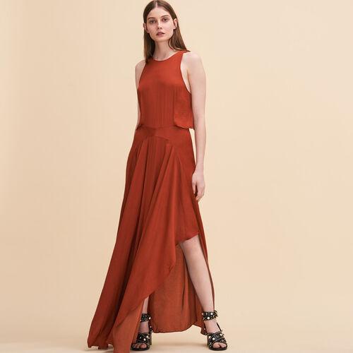 Long sleeveless dress - Dresses - MAJE