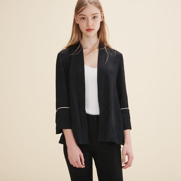 Floaty kimono-inspired jacket - Blazers - MAJE