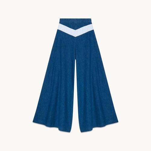 Denim culottes - Jeans - MAJE
