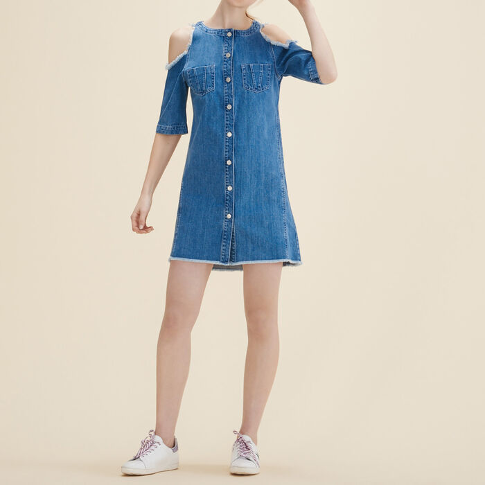 Denim dress -  - MAJE