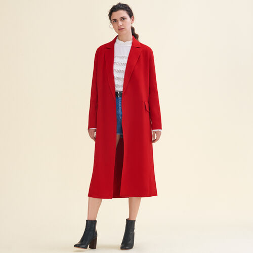 Coats - Collection - Ready to wear - Maje.com