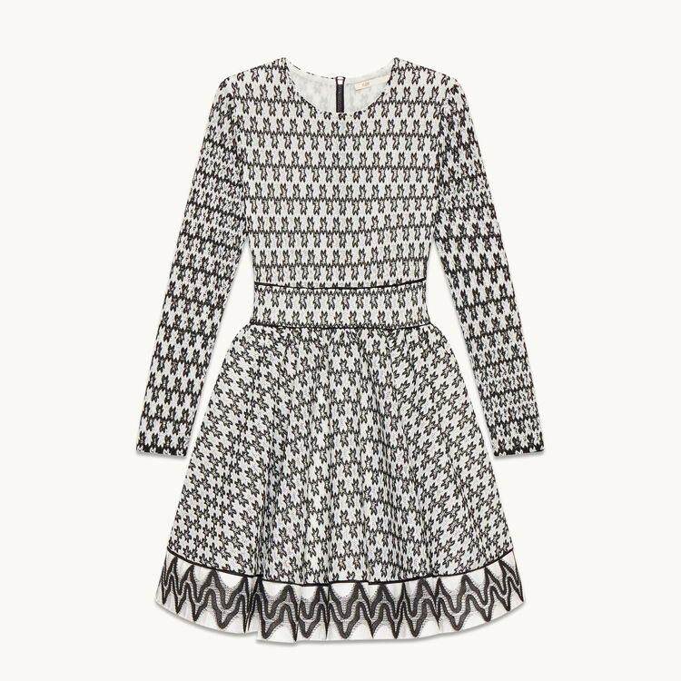 Lace skater dress - Dresses - MAJE