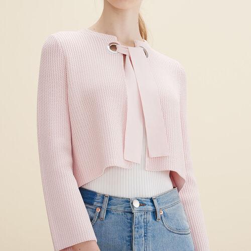 Short cardigan - Knitwear - MAJE