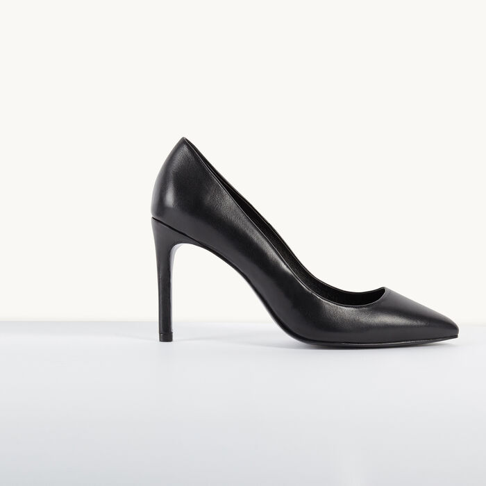Leather pumps -  - MAJE