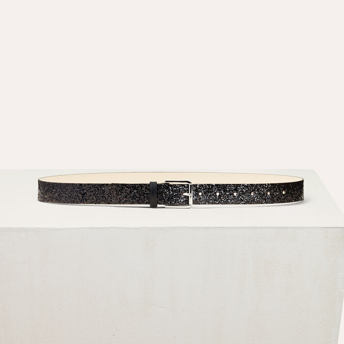 Sequinned belt - Belts - MAJE