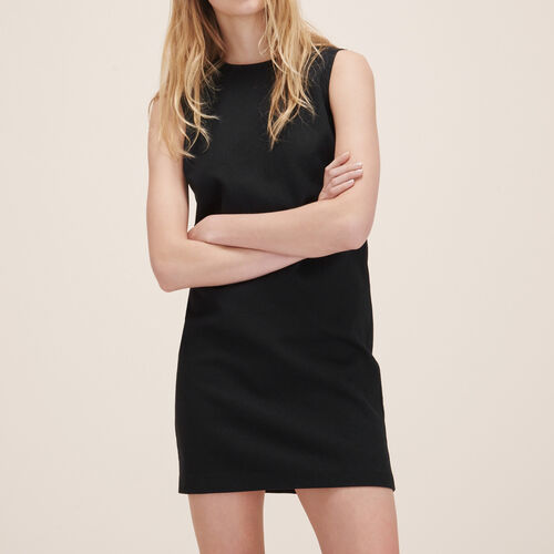 Straight sleeveless dress - Dresses - MAJE
