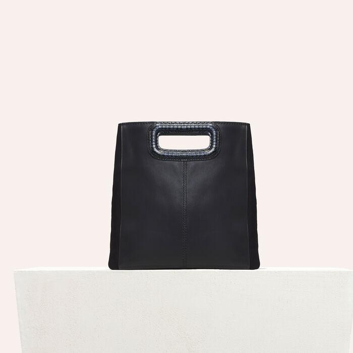 Leather bag -  - MAJE