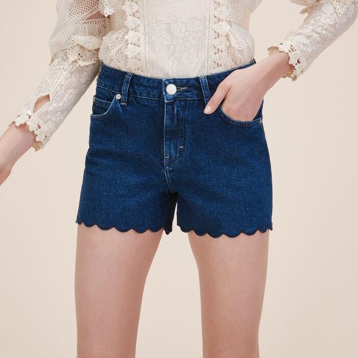 Denim shorts - Skirts & Shorts - MAJE