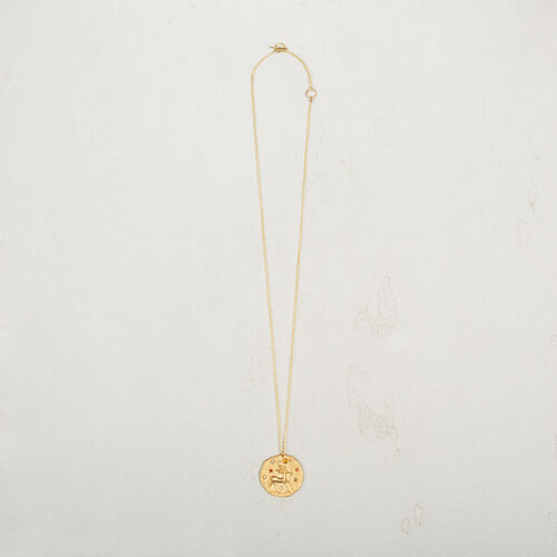 Sagittarius zodiac sign necklace - Jewelry - MAJE