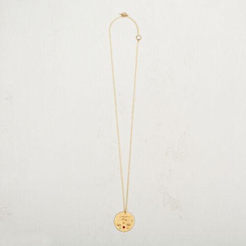 Libra zodiac sign necklace - Jewelry - MAJE