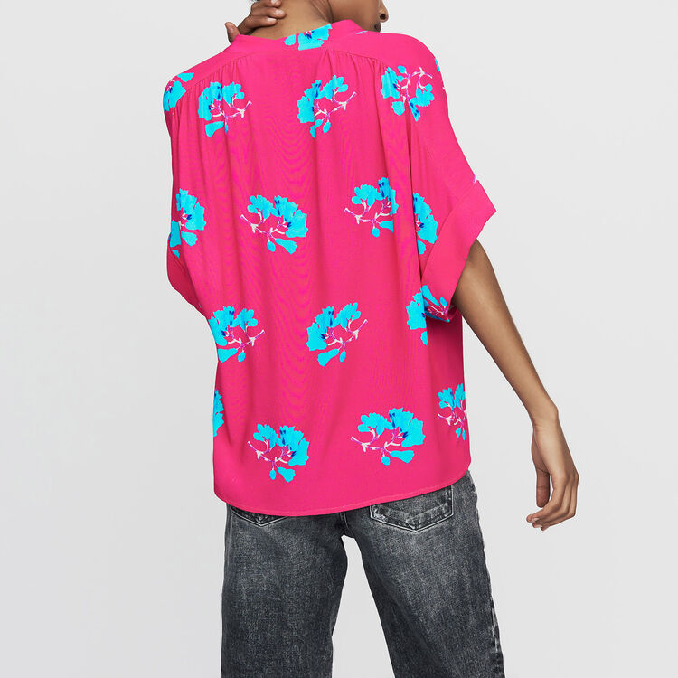 Oversized printed blouse : Shirts color PRINTED
