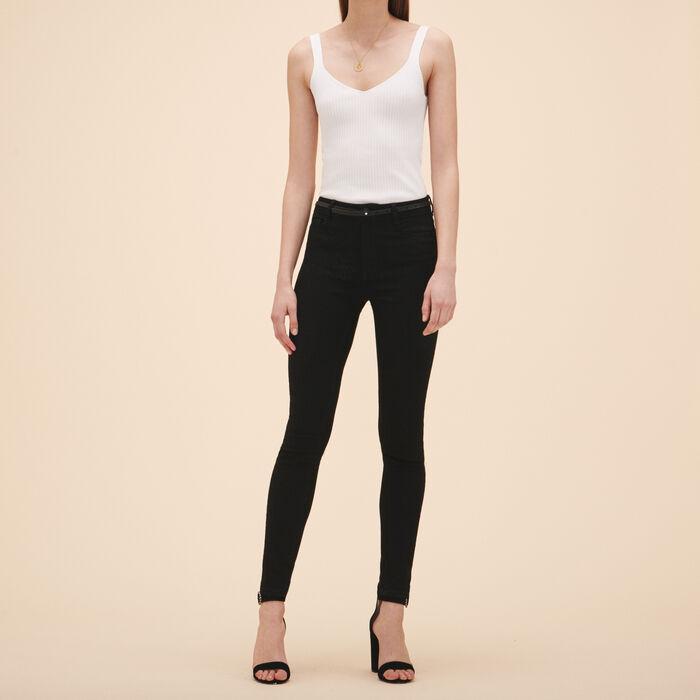 Cotton slim jeans -  - MAJE