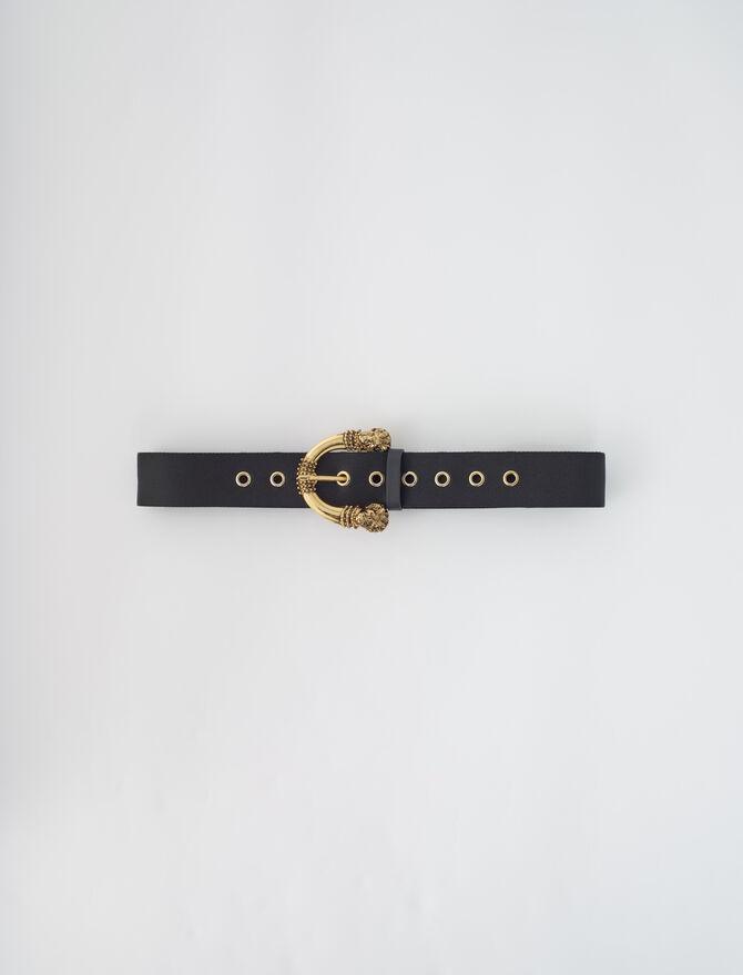 Strap belt with buckle - Belts - MAJE