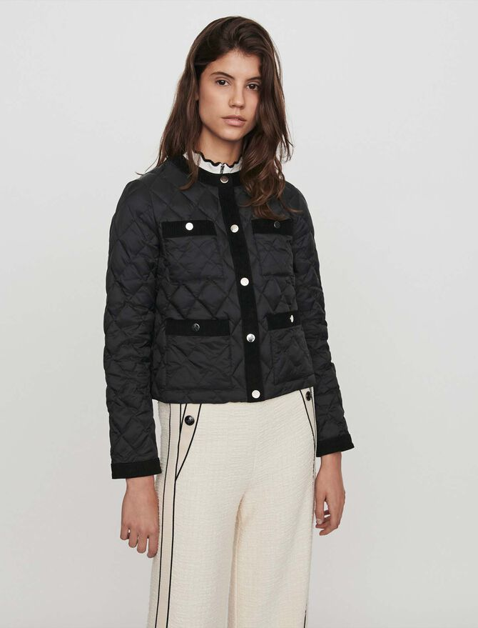 Light puffer with pockets - Best Sellers - MAJE