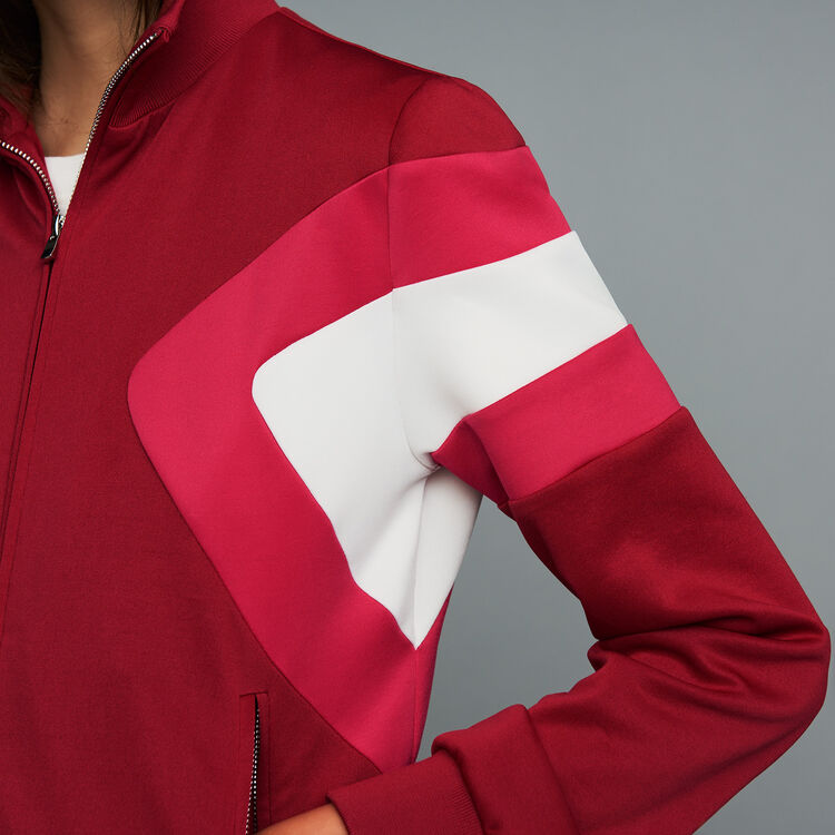 Track jacket : Blazers color Raspberry