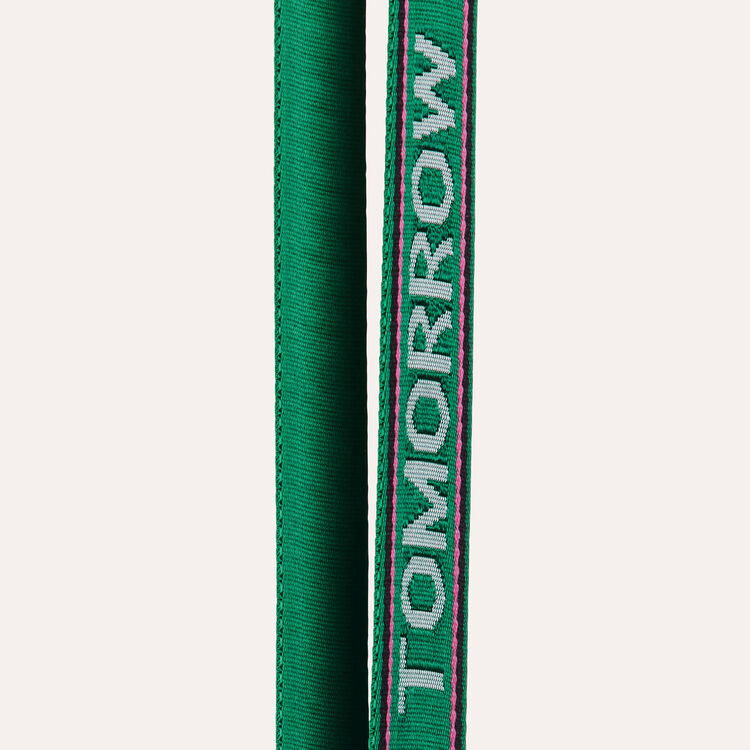 Removable shoulder strap : See all color Green