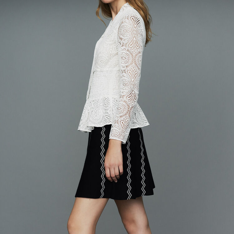 Lace top : New Collection color Ecru
