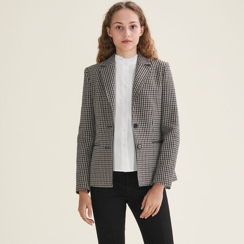 Fitted tailored jacket - Blazers - MAJE