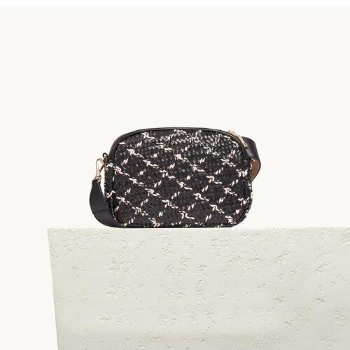 Round bag with braiding - Shoulder bag - MAJE