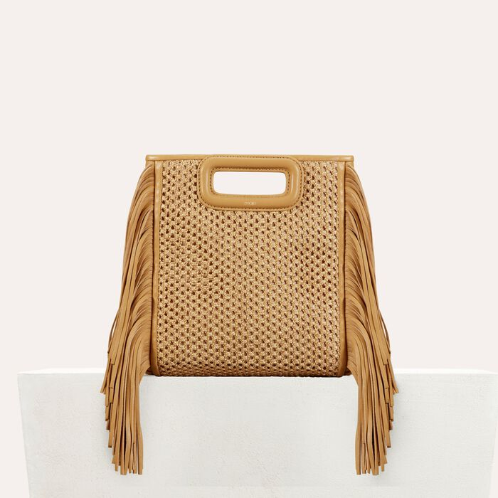 Fringed bag : Shop by color NATUREL
