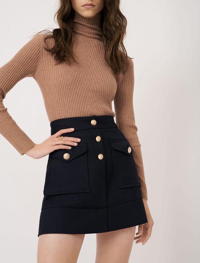 A-line skirt - Eco-friendly - MAJE
