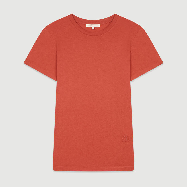 Short sleeve T-shirt : T-Shirts color Terracota