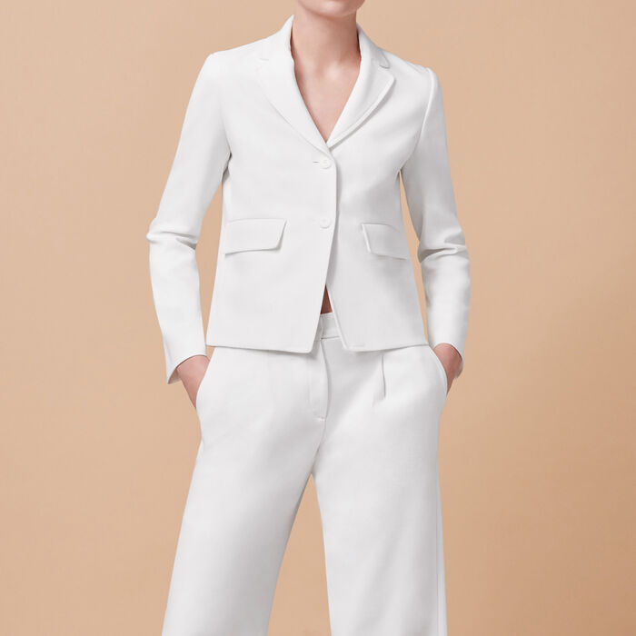 Tailored jacket - Dress Code - MAJE