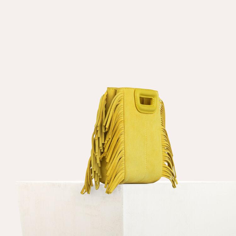 M mini-bag with chain : M Mini color Yellow