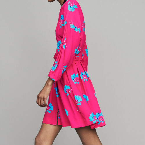 Dress with trompe-l'oeil effect : Ready to wear color PRINTED