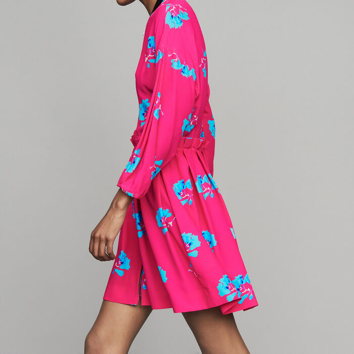 Dress with trompe-l'oeil effect : New Collection color PRINTED