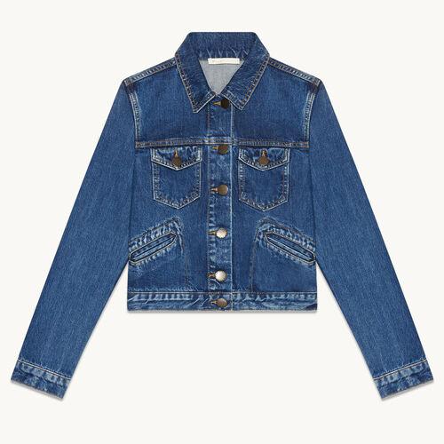 Denim jacket - Mid Season Sales - MAJE