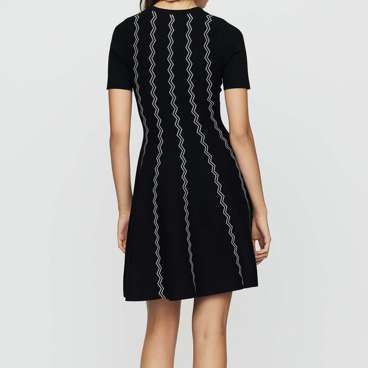 Jacquard dress : Ready to wear color Black 210