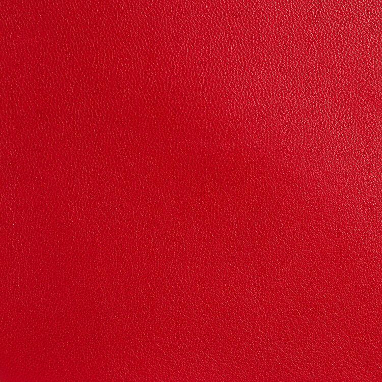 M Duo clutch in leather : M Duo color Red