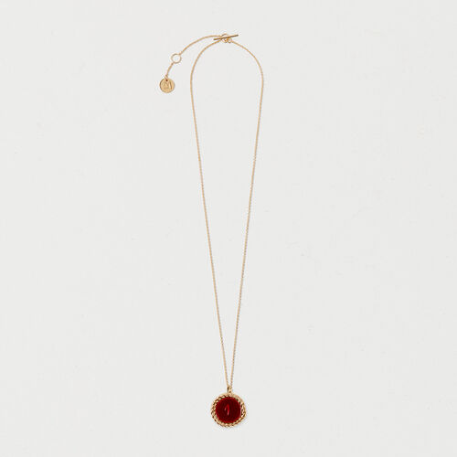 Number 1 medallion - Jewelry - MAJE