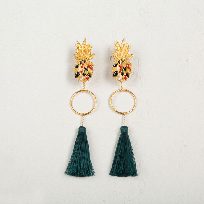 Tassel earrings -  - MAJE