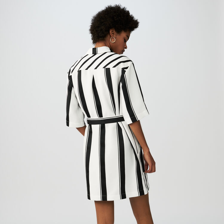 Striped shirt dress : See all color Stripe