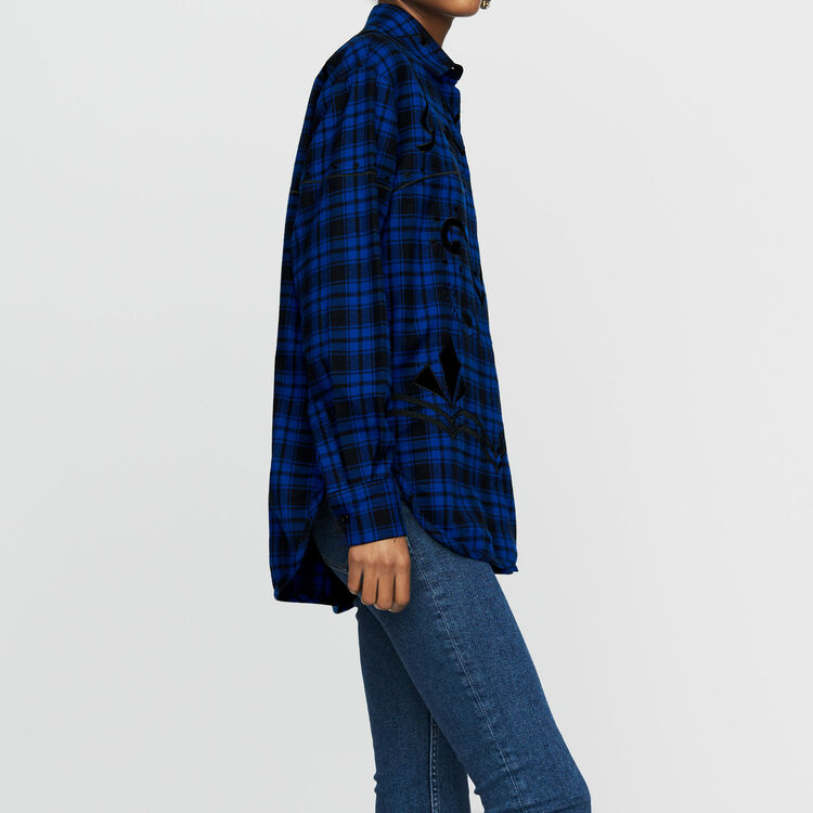 Check cotton shirt : Shirts color CARREAUX