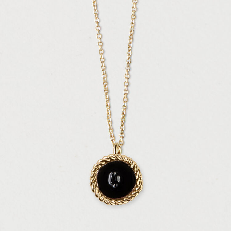 Number 4 medallion : Jewelry color GOLD