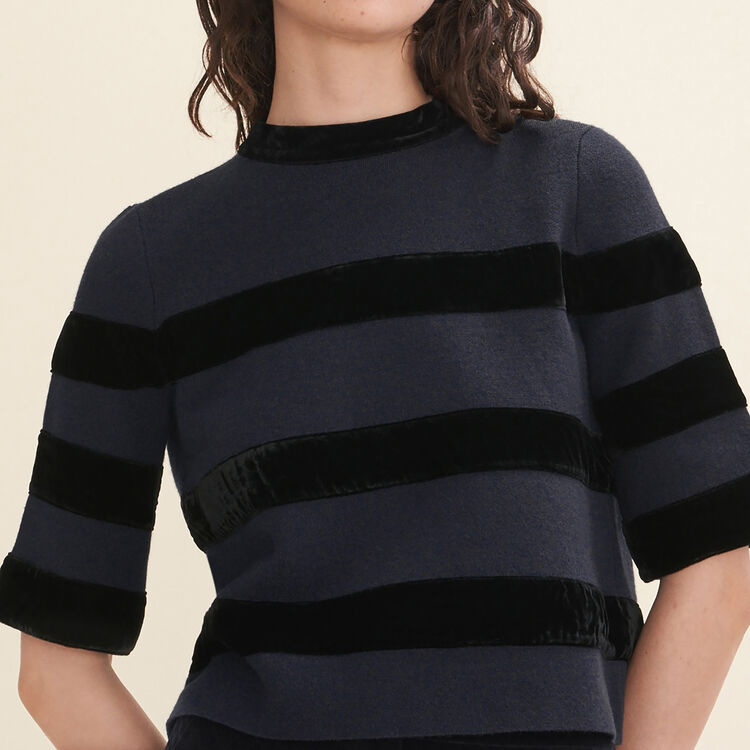 Locknit jumper : Sweaters & Cardigans color Navy