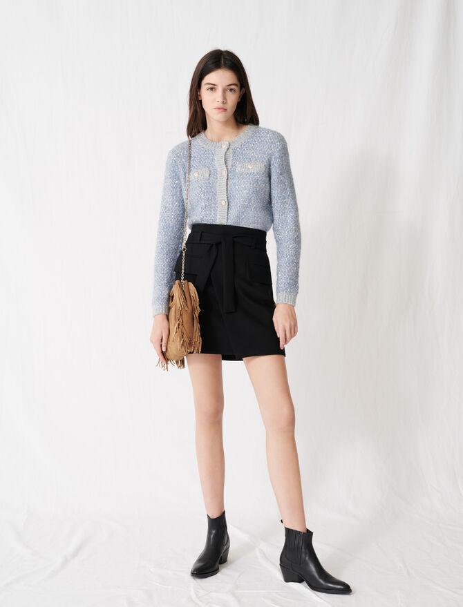 Wrap mini skirt - Skirts & Shorts - MAJE